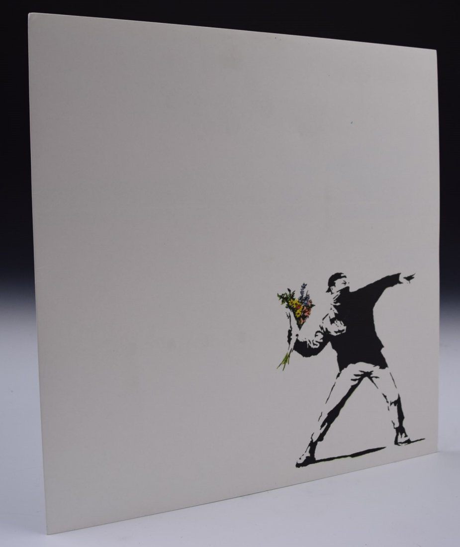 Banksy LP Sleeve - 2