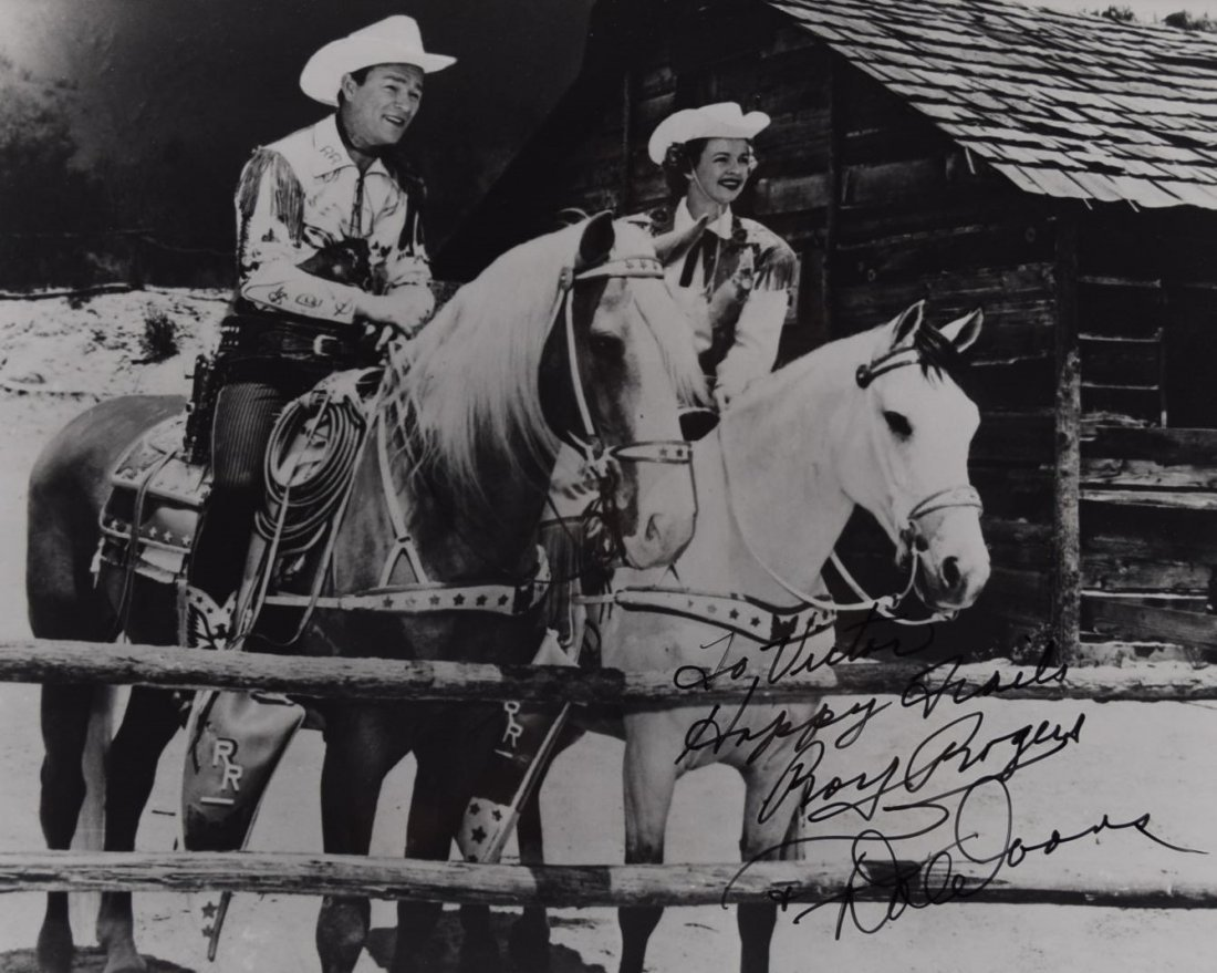 Roy Rogers Signed Photo - 2