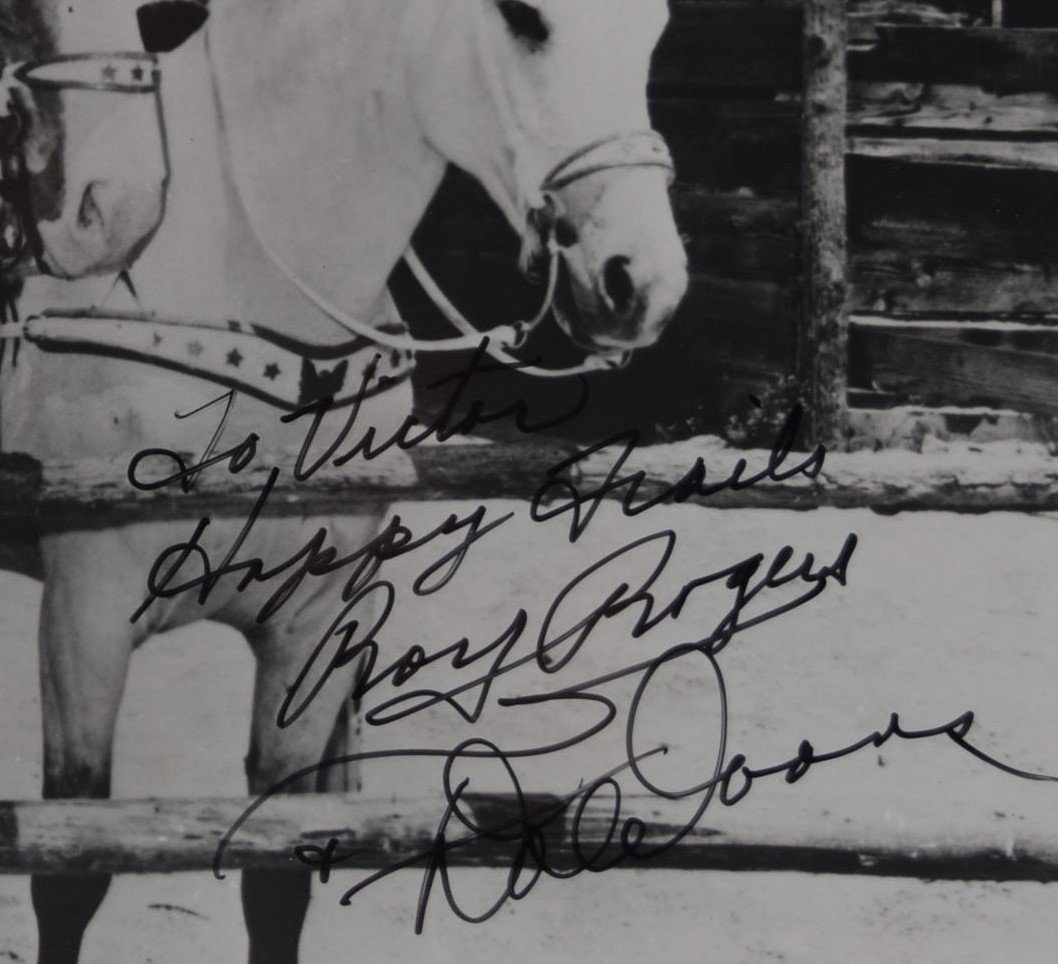 Roy Rogers Signed Photo - 3