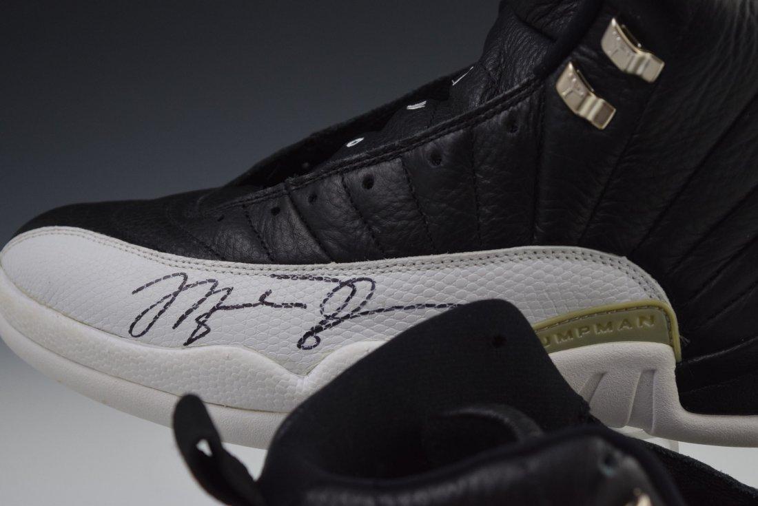 Michael Jordan Game Worn Signed Shoes - 2