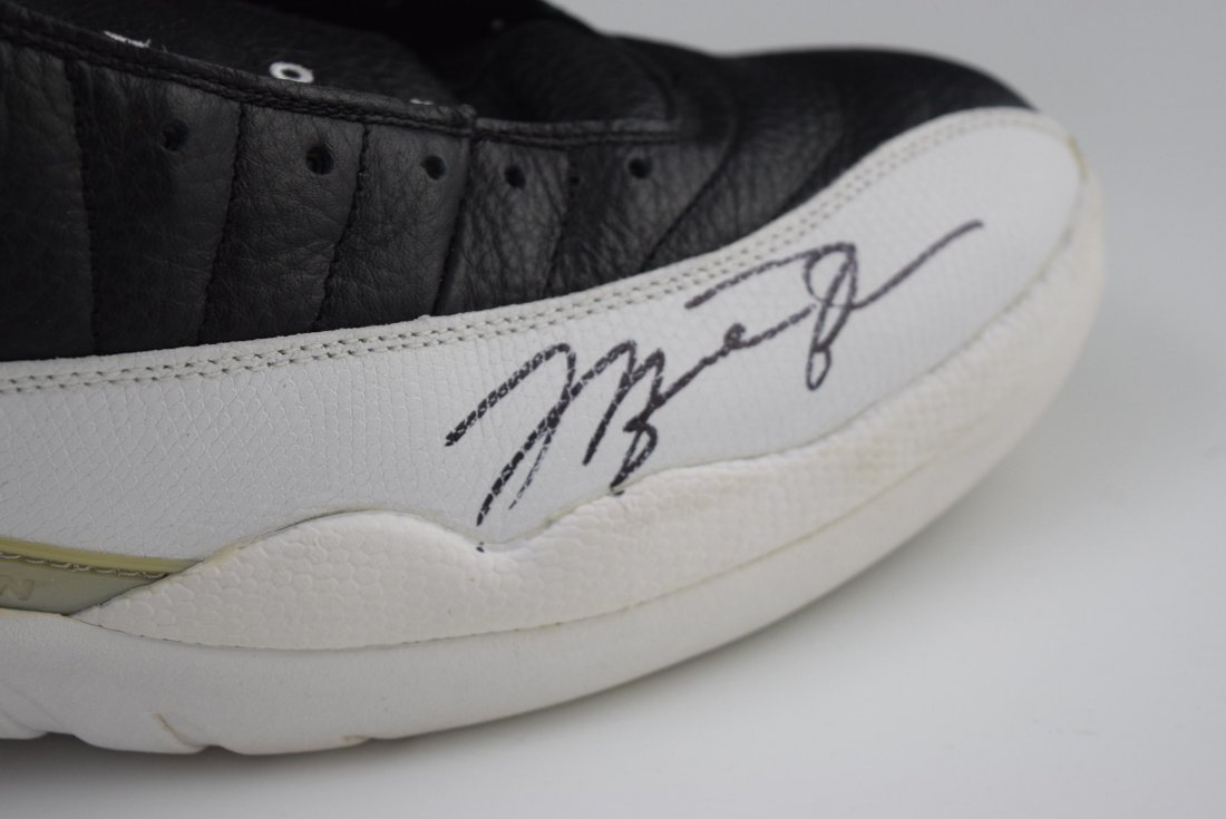 Michael Jordan Game Worn Signed Shoes - 3