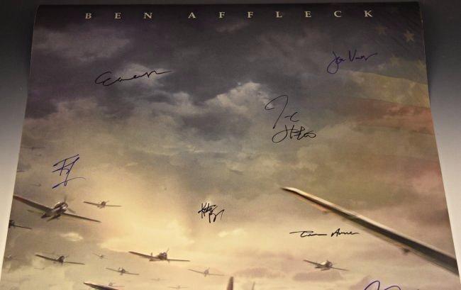 Pearl Harbor Cast Signed Poster - 2