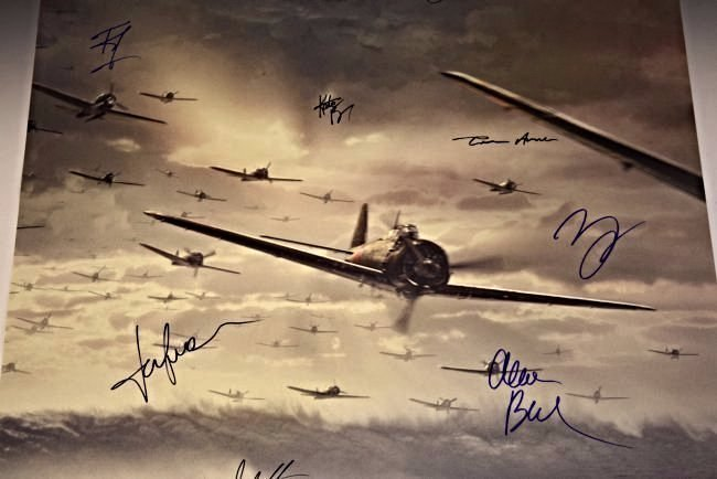 Pearl Harbor Cast Signed Poster - 3