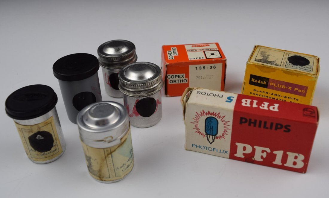 Andy Warhol's Personal Used Film Equipment