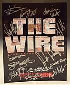 The Wire Cast Signed Photo
