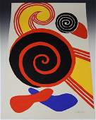 Alexander Calder Lithograph Signed