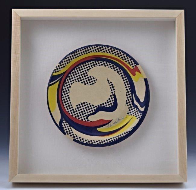 Roy Lichtenstein Signed Screenprint