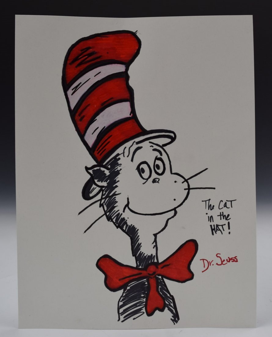 Dr. Seuss Drawing