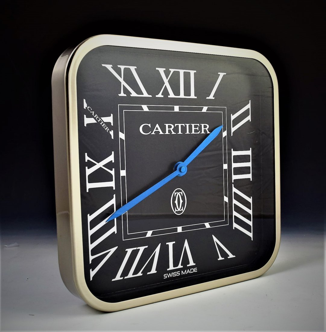 Cartier Dealer Clock