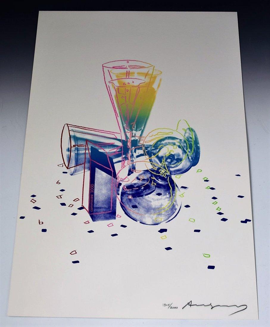 Andy Warhol Commitee 2000, 1982