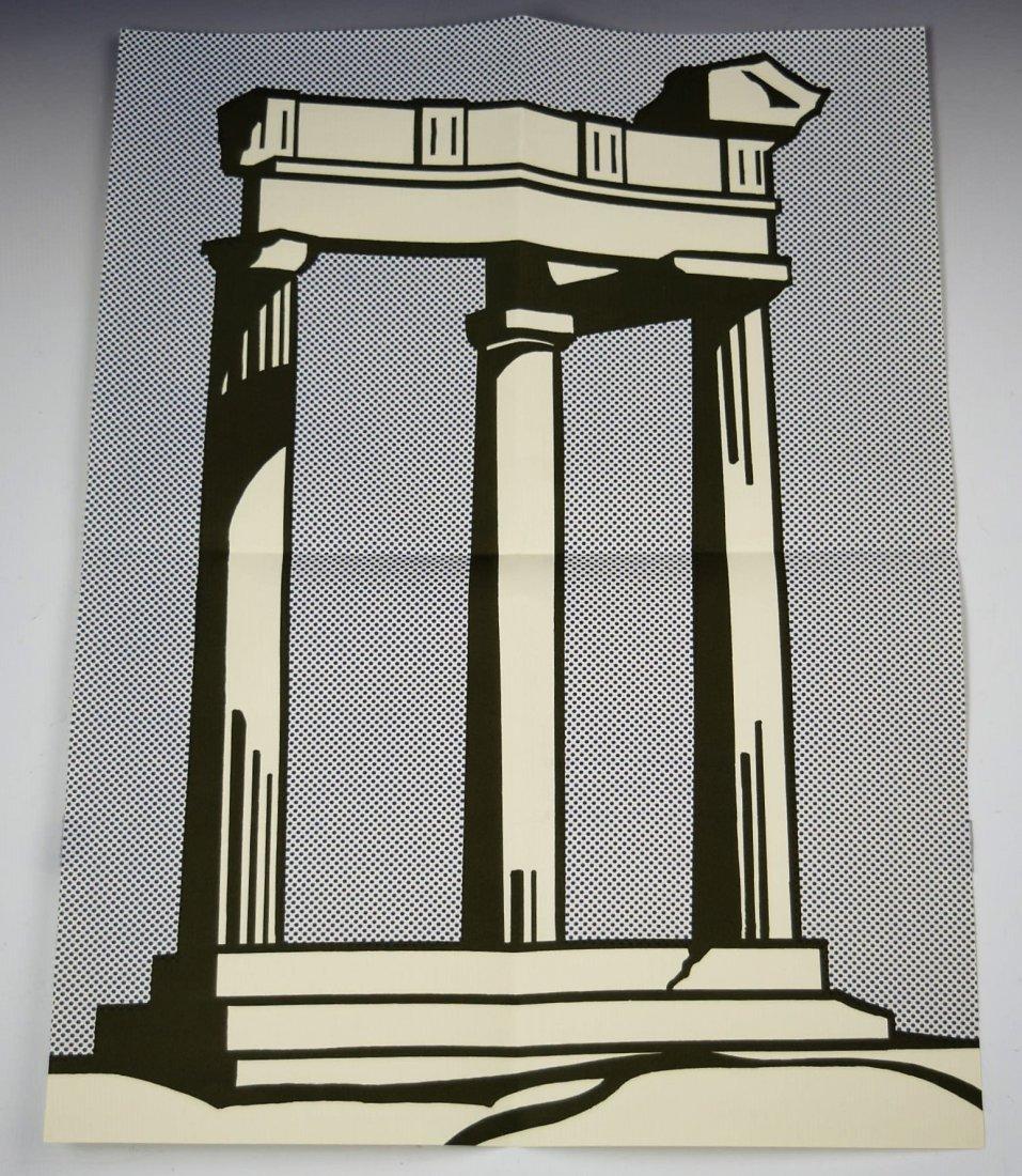 Roy Lichtenstein Temple Mailer