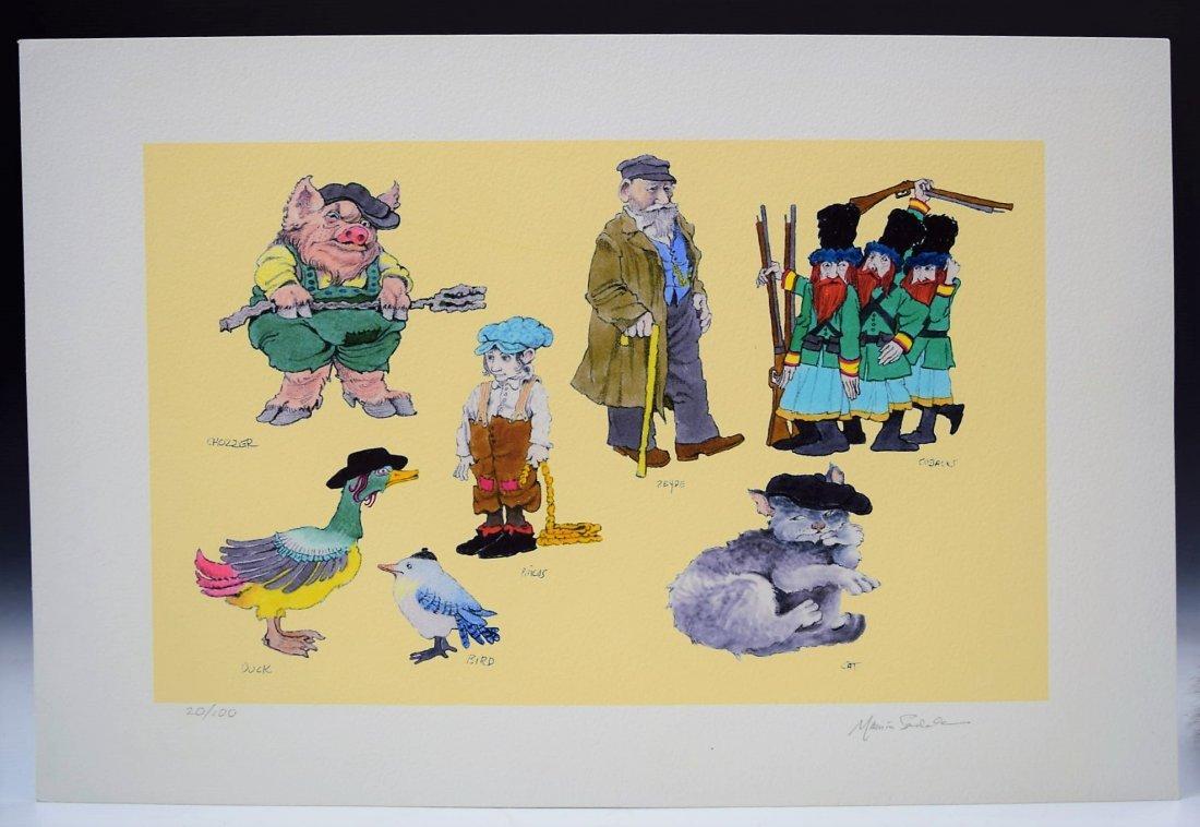 Maurice Sendak Signed Print