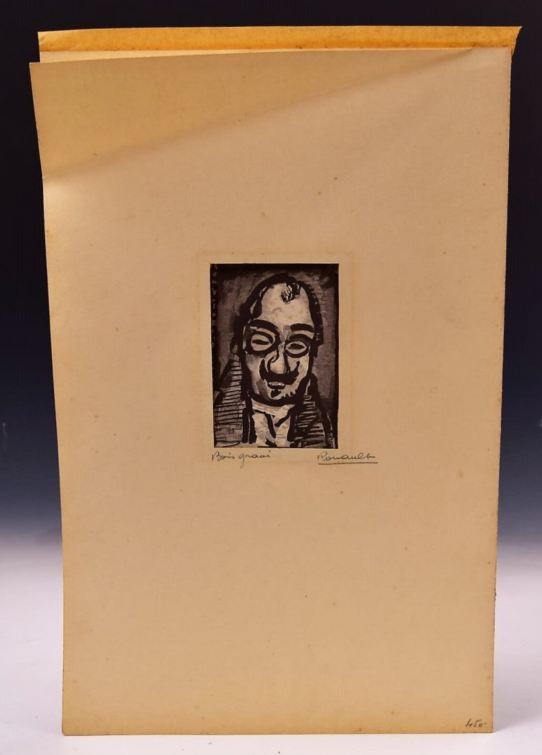 George Rouault Etching Signed