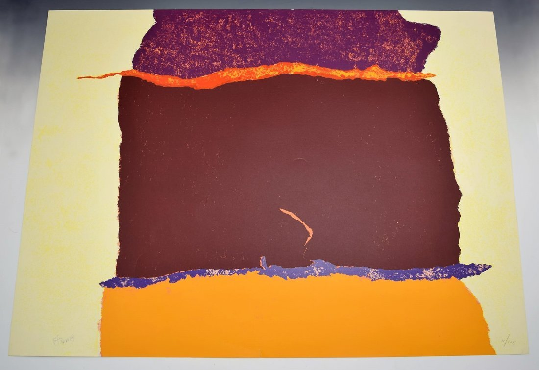 Theodoros Stamos Signed/Numbered Screenprint