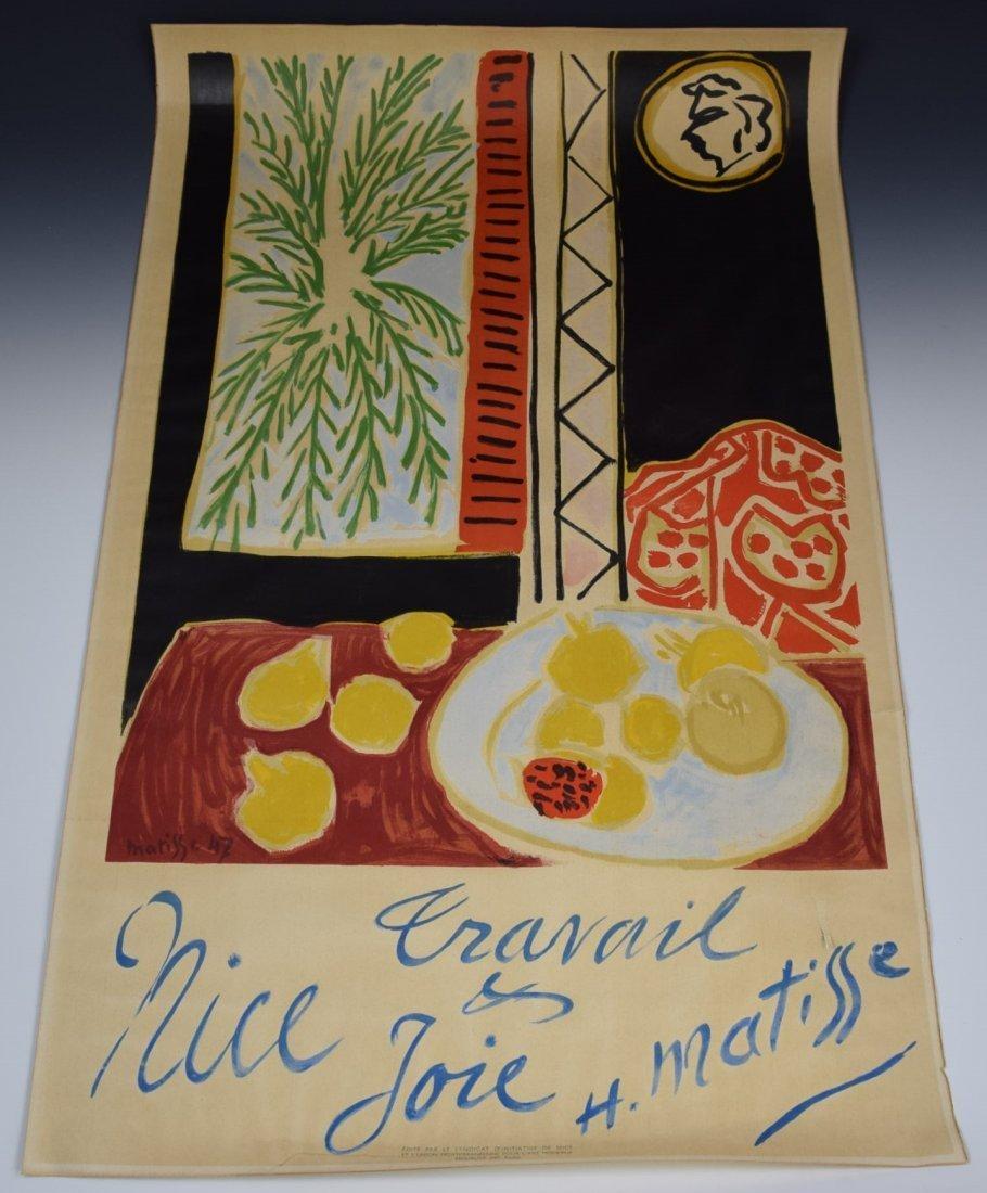 1947 Henri Matisse, Nice Travail et Joie