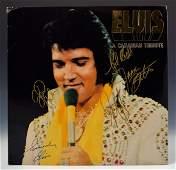Elvis Presley Band Signed Album