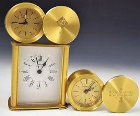 Grouping of Tiffany & Co Clocks