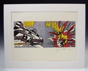 Roy Lichtenstein WHAAM!