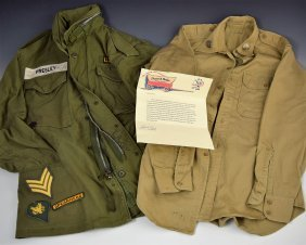 Elvis Presley's Personal Army Jacket