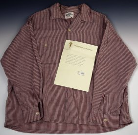 Elvis Presley's Personal Dress Shirt