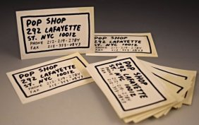 Keith Haring Pop Shop Cards