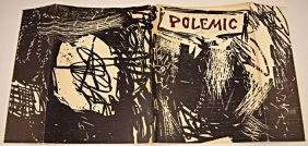1959 Roy Lichtenstein Signed Woodcut