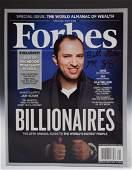 Bill GatesMark Zuckerberg Signed