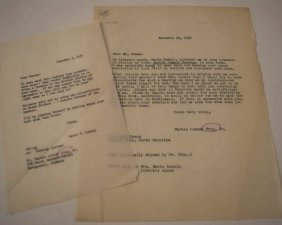 Martin Luther King, Jr. Typed Letter