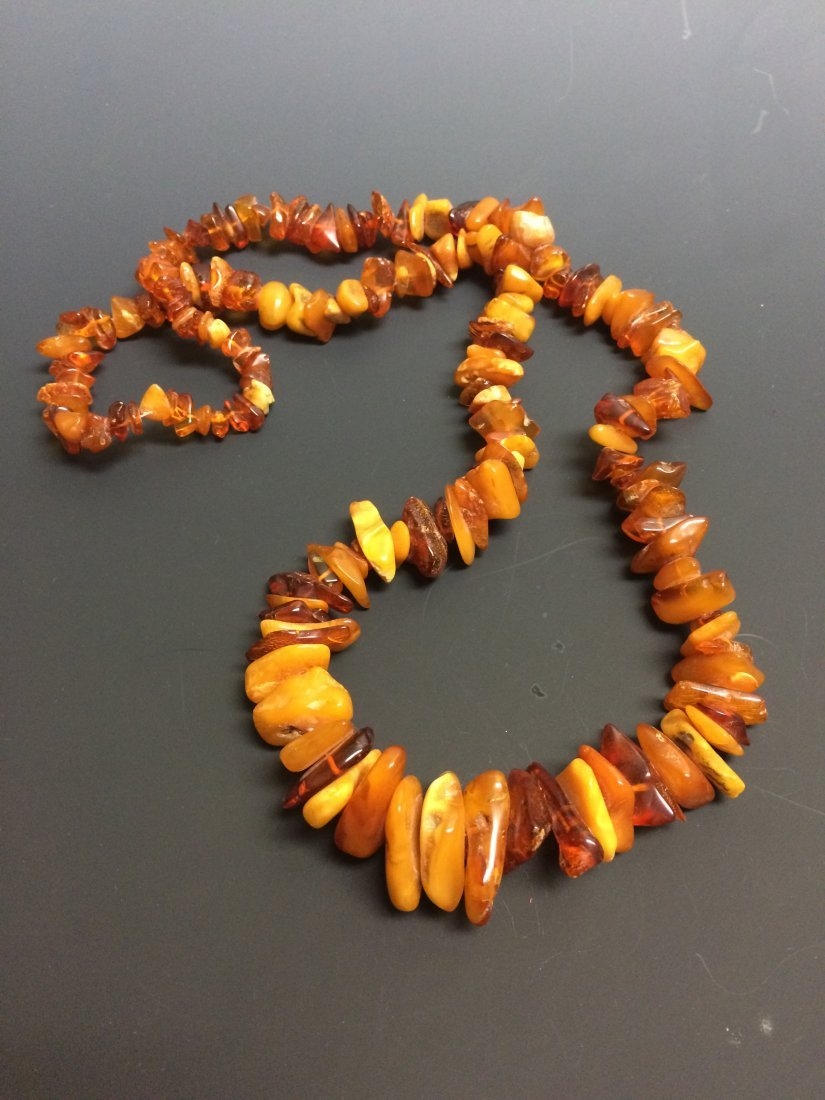 Amber Pendant and Amber Necklace