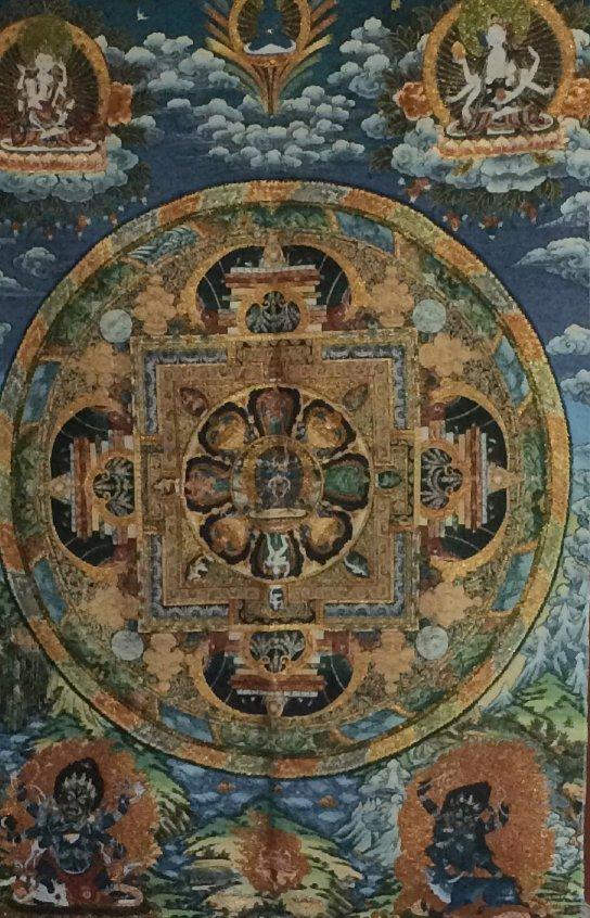 Tibetan Buddrism Tanka