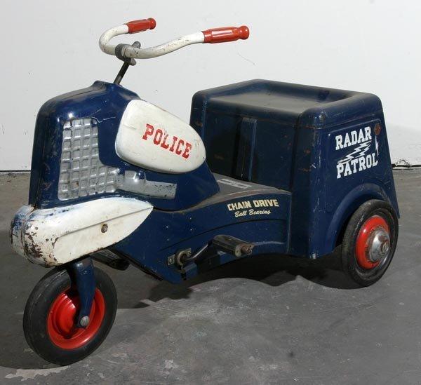 80: Murray Police Trike Pedal Car
