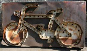529: Bicycle /Motorcycle Dealership Animated Sign