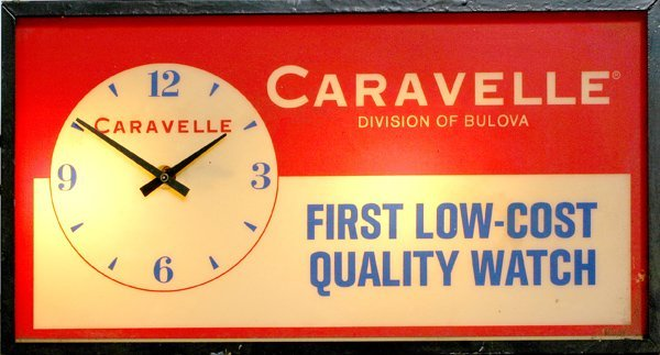 712:Light up Caravelle Clock