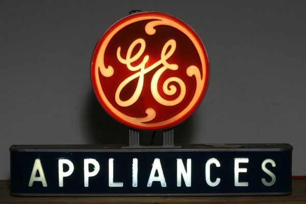 717: Countertop GE Appliances Sign