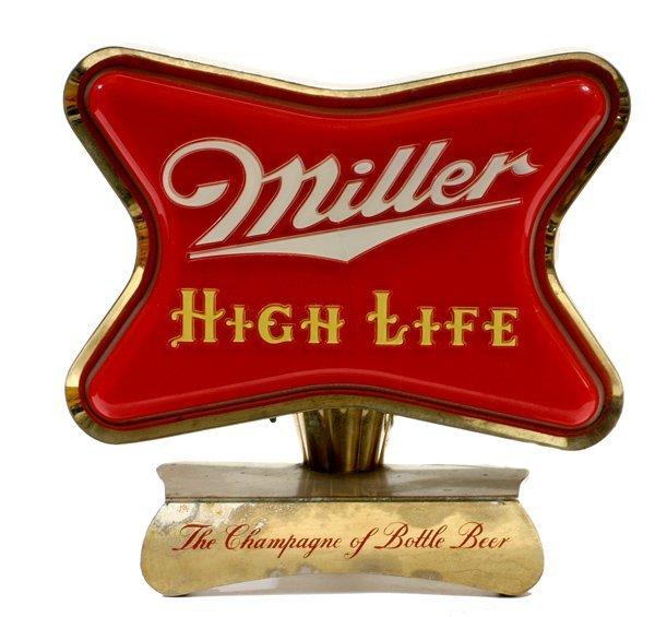 """1517: """"Miller Beer"""" Light up Sign"""