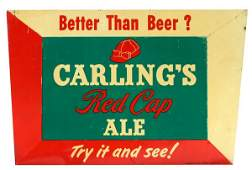 1518: Carlings Red Cap Ale Sign