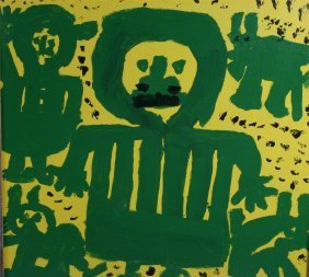Mary T. Smith-Untitled-. Outsider Art