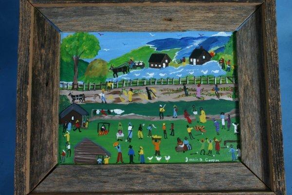 120: Jessie Cooper-Untitled-. 2001. Paint on panel. 22