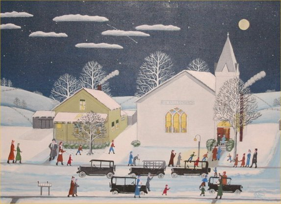 "3: Paul Patton-Outsider Art- ""Rex Mills Church Prayer M"