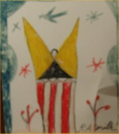 """91: RA Miller-Outsider Art-""""Lord Love You"""" Paint on tin"""