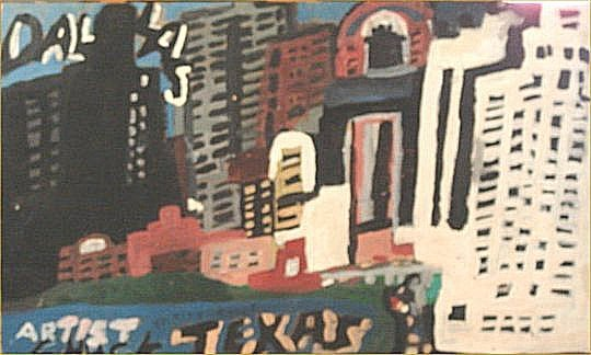 """153: Chuckie Williams-Outsider Art-""""Peter Jennings and"""