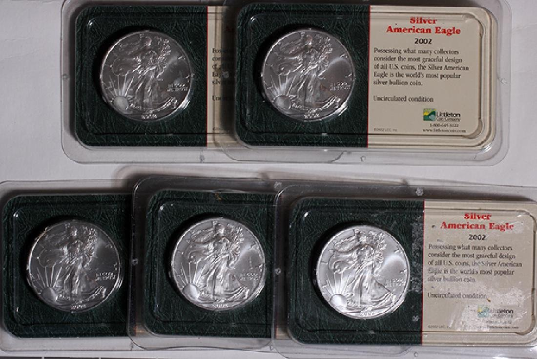 2002 Silver Eagles