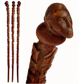 Williams Jennings  Bryan Political Cane-Late 1800's-