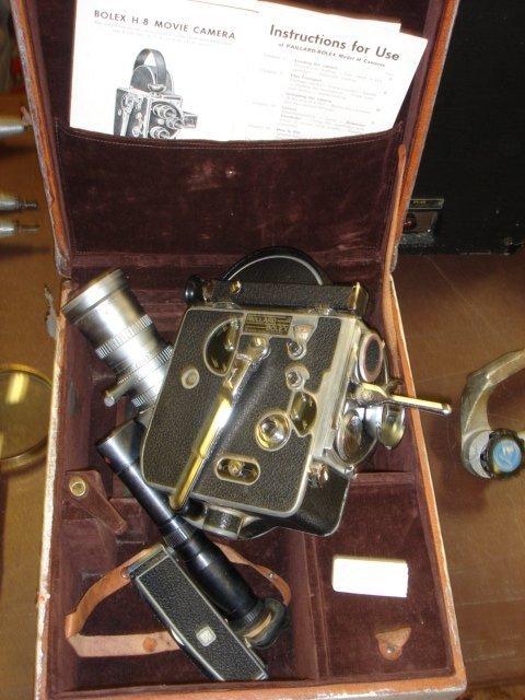 5: Bolex H-Paillard, in original box w/17-68mm zoom len