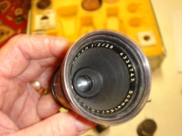 19: 28mm f2 Lens Schneider-Kreusnach Xenon