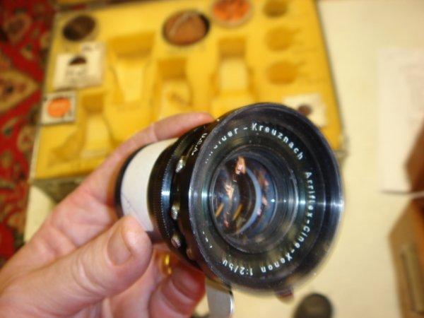 20: 50mm f2 Lens Arriflex-Cine-Xenon Schneider-Kreuznac