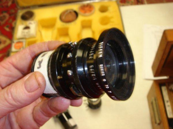 21: 75mm f2 Lens Schneider  Arifflex Cine-Xenon