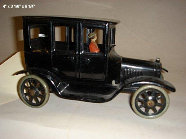 2007: Bing, four door Model T's with driver, tin