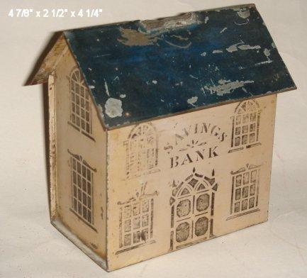 2022: Tin savings bank, missing chimney