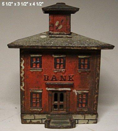 2037: Large cast iron bank